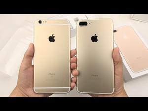 Pascua bonanza: auténtico iPhone 7 Plus ORO €200 Nuevo