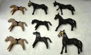 Playmobil lote 9 caballos