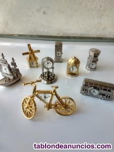 Relojes en miniatura de colección
