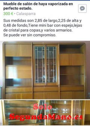 SE VENDE MUEBLE DE SALÓN