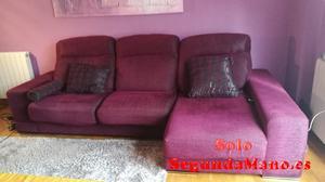 Sofá chaise longue con motor