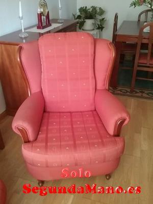 Sofá dos plazas y sillon