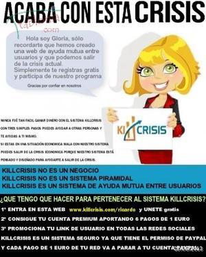 TU ERES EL PROYECTO............KILLCRISIS.COM - Tenerife