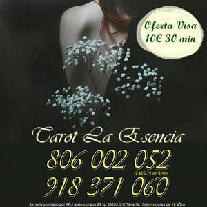 Tarot La Esencia oferta 8€ 20 min por visa. Tarot barato