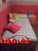 VENDO 2 CAMAS DE FORJA COLOR CREMA 90 CM