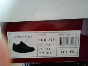 VENDO ZAPATOS MBT modelo Shadow black n.º 37 - Barcelona