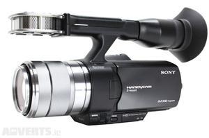 Vendo cámara de vídeo Sony NEX-VG20 en perfecto estado -