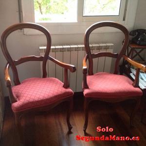 Vendo sillas estilo Isabelino