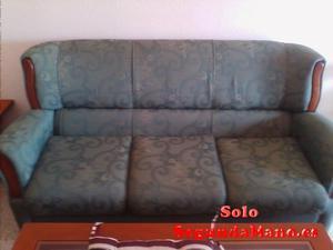 Vendo sofá de 3 plazas + 2 sofás individuales
