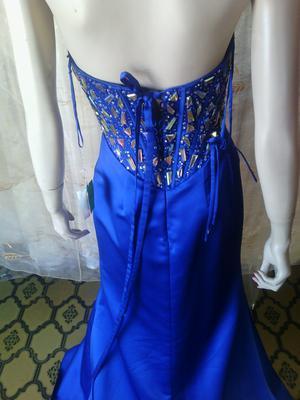 Vestido de fiesta rebajado en azul - Alicante