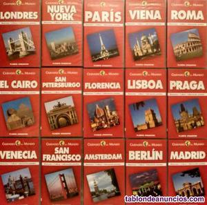 ''ciudades del mundo'' - colección de 40 documentales