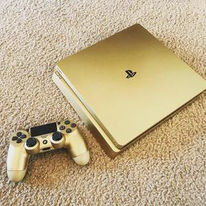 compre Sony PlayStation 4 ORO 1TB console con 7 juegos