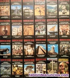 ''enigmas del pasado'' - colección de 22 documentales (vhs)