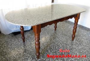 mesa comedor de mármol