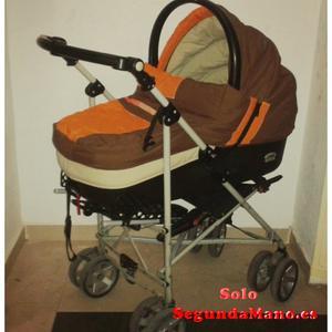 oferta carrito para bebé de dos piezas