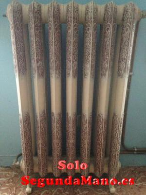 radiadores antiguos de hierro fundido