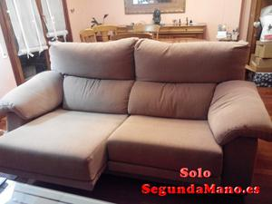 se vende sofa marrón en perfecto estado