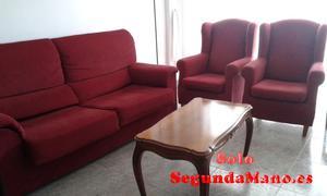 venta de sofa y dos sillones