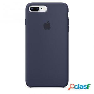 Funda iphone 8 plus / 7 plus silicone case - azul noche -