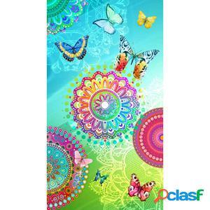 HIP Toalla de playa 5112-H Mystic 100x180 cm multicolor