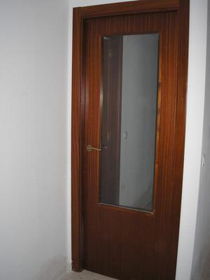 puertas de madera con cristaleras - Valencia