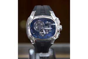 -20% Reloj de hombre con esfera azul de la colección