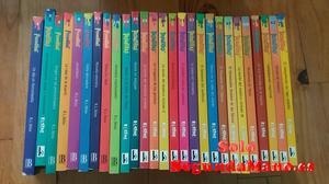 """27 libros coleccion """"pesadillas"""" en pack o unidad"""