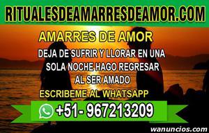 AMARRES DE AMOR, DEJA DE SUFRIR Y LLORAR - Madrid