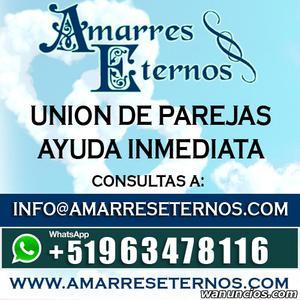 ..AMARRES DE AMOR, RETORNO DE PAREJA, UNION DE PAREJA -