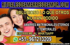 AMARRES DE AMOR, SALDRÁS DE CUALQUIER PROBLEMA - Madrid