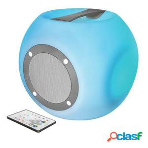Altavoz bluetooth trust urban lara con party lights