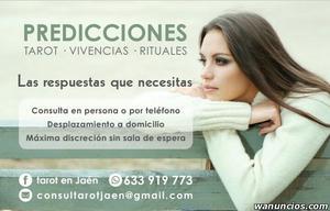 CONSULTA DE VIDENCIA Y TAROT - Jaén