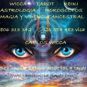 Carlos wicca, tarot, videncia y magia ancestral - Toledo