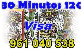 Clarividencia al mas bajo precio 12 euros los 30 minutos -