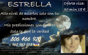 Estrella, Vidente, Directa, Amor, Oferta 20min 13€