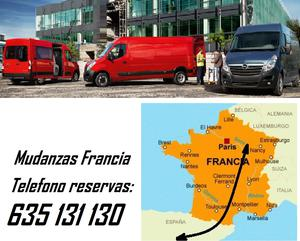 Hacemos mudanzas entre Francia España - Barcelona