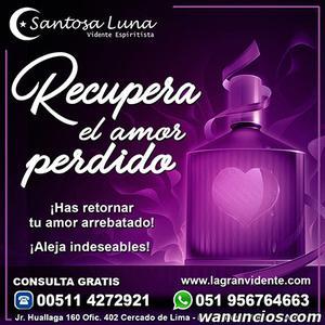 Hechizo de amor - Maestra Santosa Luna - Madrid