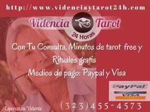 LECTURA DE TAROT + MINUTOS FREE 24 HORAS. - Barcelona