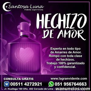 Maestra Santosa Luna - Hechizo de amor - Barcelona