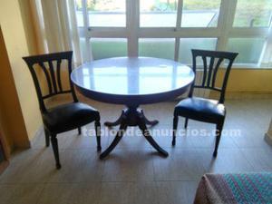 Mesa comedor madera noble