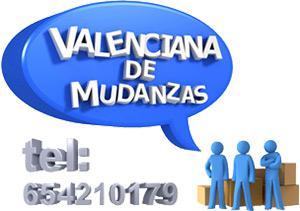 Mudanzas Valencia Nacionales e Internacionales - Valencia