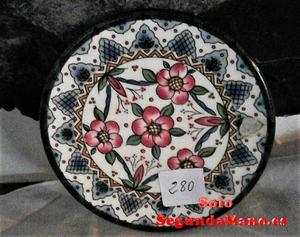 Plato de colgar de Ceramica Serigrafiado (280a)