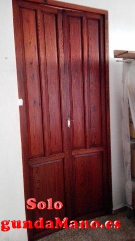 Puertas habitación de mobila vieja