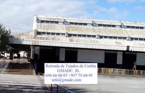 QUITAR FIBROCEMENTO EN SEVILLA, DESMONTAR CUBIERTAS DE