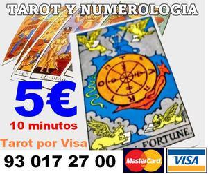 Recibe el  con abrecaminos personalizado tarot visa 5€