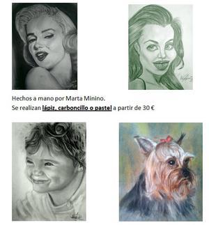 Retratos y caricaturas por encargo - Badajoz