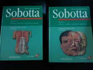Se vende Sobotta. Atlas de anatomía - Barcelona