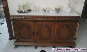 Se vende mueble de salón de madera