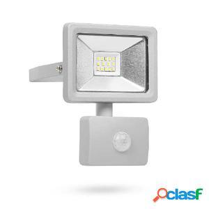 Smartwares Foco LED de seguridad con sensor 10 W gris