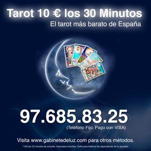 TAROT DE AMOR. 10 Euros 30 Minutos. VISA - Barcelona